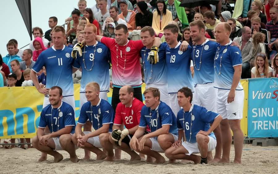 23eafb322d0 ... Eesti rannajalgpallikoondis alustas Moskvas FIFA rannajalgpalli  maailmameistrivõistluste kvalifikatsiooniturniiri (Ungari ja Venemaa mängu  tulemused) ...